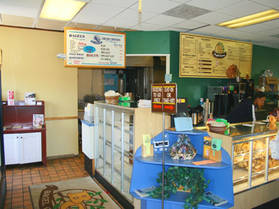 Counter Inside The Bagel Grove